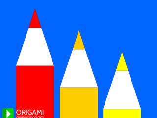Origami Pencil