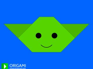 Origami Yoda Face