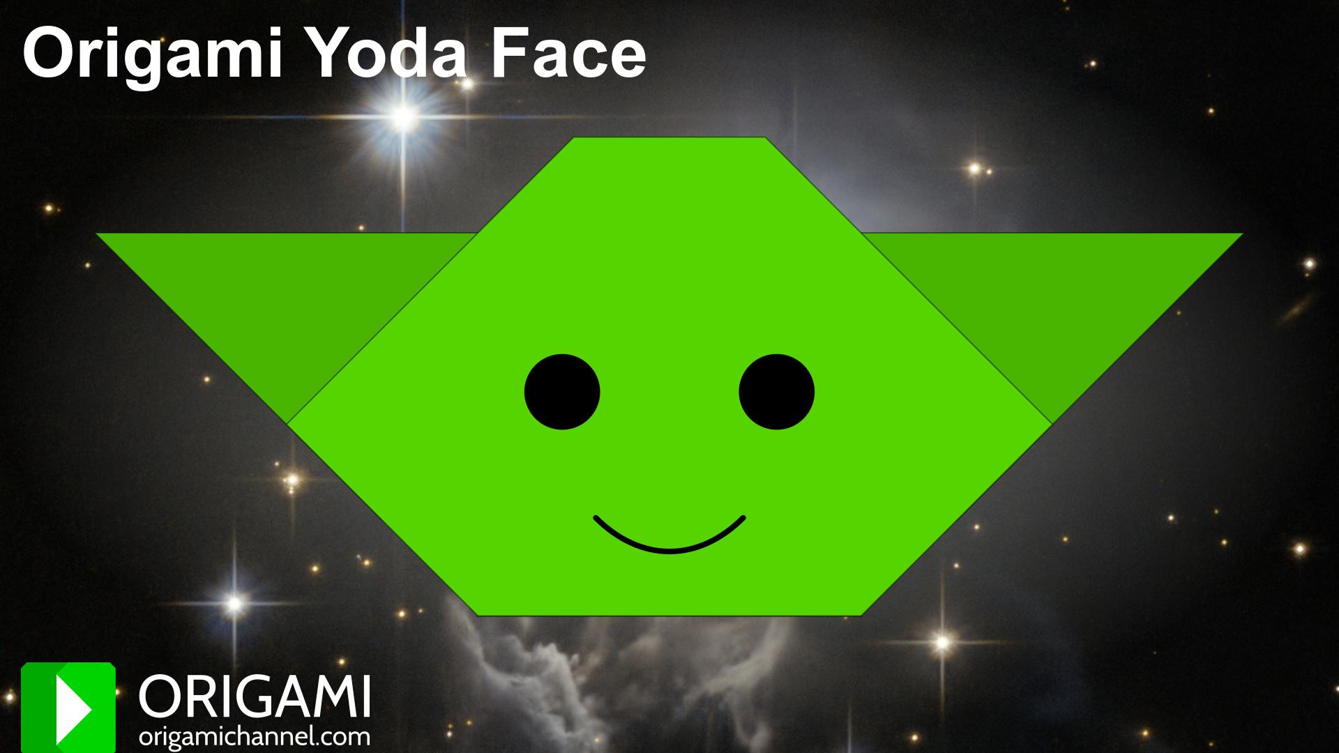 5 fold Foldy Wan | Origami Yoda | 1080x1920